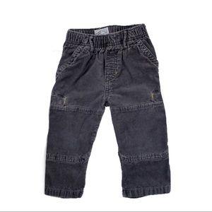 Boys Grey Corduroy Pants, Size 18 M